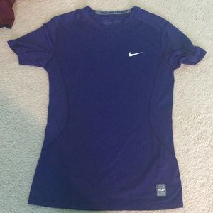 Nike fitted Dri Fit short sleeve